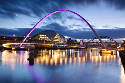 Newcastle Milenium Bridge